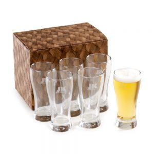 Conjunto com 6 copos para cerveja cop6013