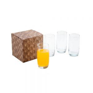 Conjunto com 4 copos para água cop6112
