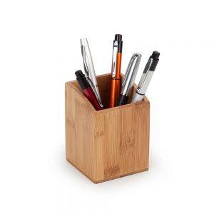 Porta canetas em bambu pla2038