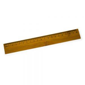 Régua em bambu 20cm reg2036