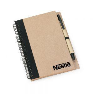 Caderneta capa reciclada blo2031