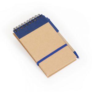 Bloco capa reciclada blo2073 azul