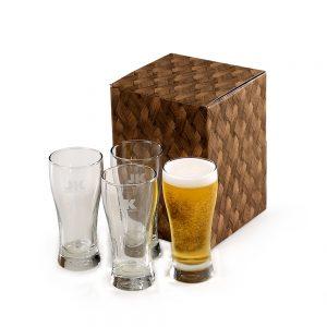 Conjunto com 4 copos para cerveja cop6008
