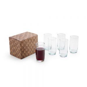 Conjunto com 6 copos para água cop6113