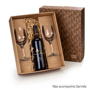 Kit com 2 taças para vinho cop6123