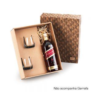 Kit com 02 copos para whisky cop6182
