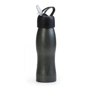 Squeeze em aço inox na cor grafite fosco gte6145