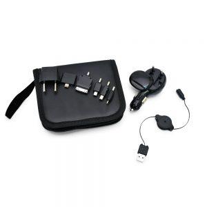 kit com Carregador universal para celular 3×1 inf3029