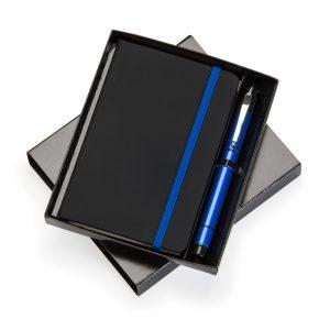 Kit escritório com caderneta de anotações kes1079