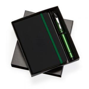 Kit escritório com caderneta de anotações kes1080