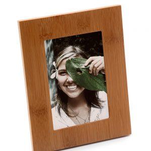 Porta-retratos em bambu vertical prm1068