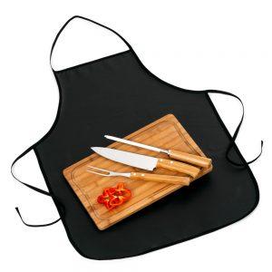 xtb4170 Kit churrasco 4 peças com tábua TR em bambu